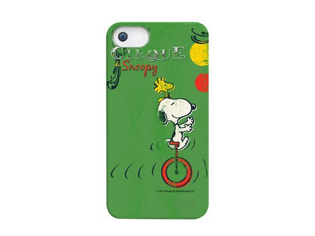 iLuv Snoopy Vintage Green Hardshell Case For iPhone 5 ICA7H382GRN