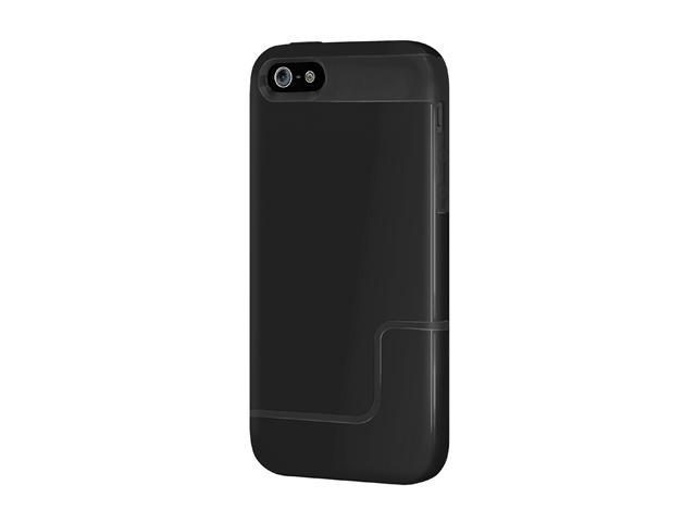 Incipio EDGE PRO Obsidian Black / Obsidian Black Case For iPhone 5 / 5S IPH-830