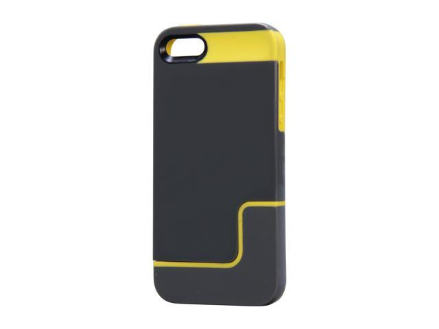 Incipio EDGE PRO Charcoal Gray / Citron Yellow Case For iPhone 5 / 5S IPH-833