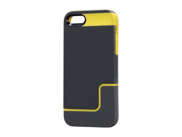 Incipio EDGE PRO Charcoal Gray / Citron Yellow Case For iPhone 5 / 5S IPH-833