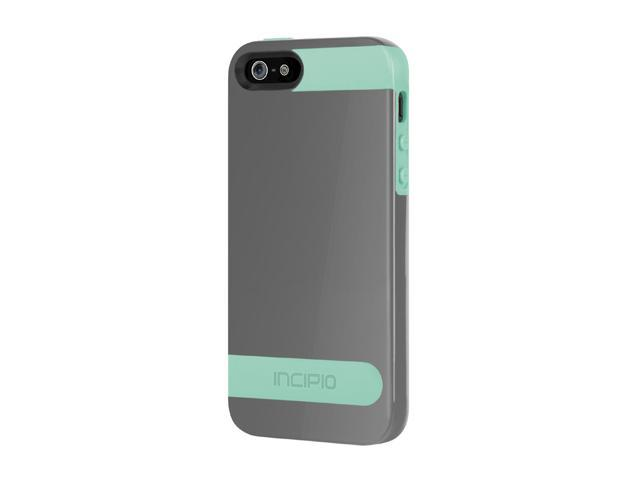 Incipio OVRMLD Charcoal Gray / Navajo Turquoise Case For iPhone 5 / 5S IPH-839