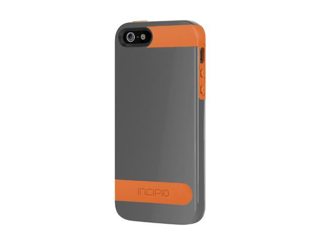 Incipio OVRMLD Graphite Gray / Sunkissed Orange Case For iPhone 5 / 5S IPH-840