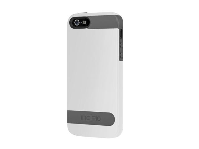 Incipio OVRMLD Optical White / Charcoal Gray Case For iPhone 5 / 5S IPH-841
