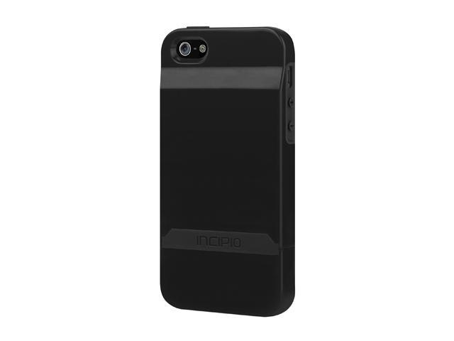 Incipio Stashback Obsidian Black / Obsidian Black Case For iPhone 5 / 5S IPH-844