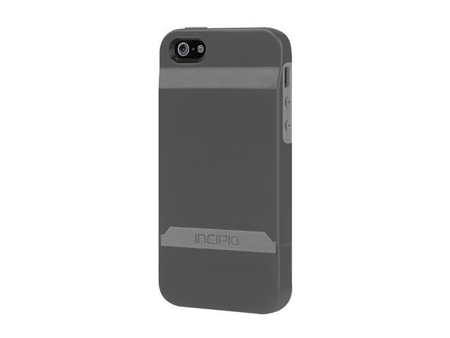 Incipio Stashback Graphite Gray / Haze Gray Case For iPhone 5 / 5S IPH-845