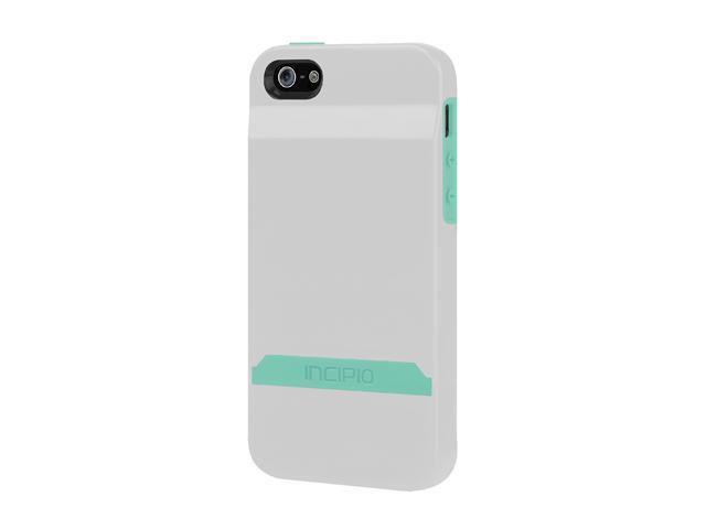 Incipio Stashback Optical White / Navajo Turquoise Case For iPhone 5 / 5S IPH-847