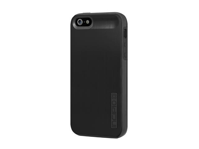 Incipio DualPro Shine Obsidian Black / Obsidian Black Case For iPhone 5 / 5S IPH-879