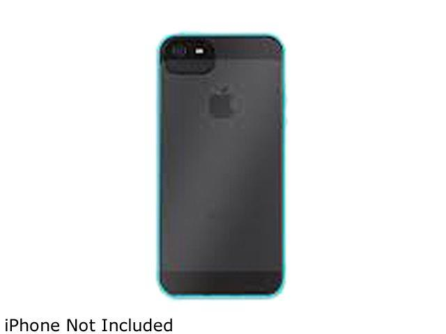 Griffin Reveal Protective Clear Case with Pool Blue Trim for iPhone 5   Ultra-thin hard-shell case