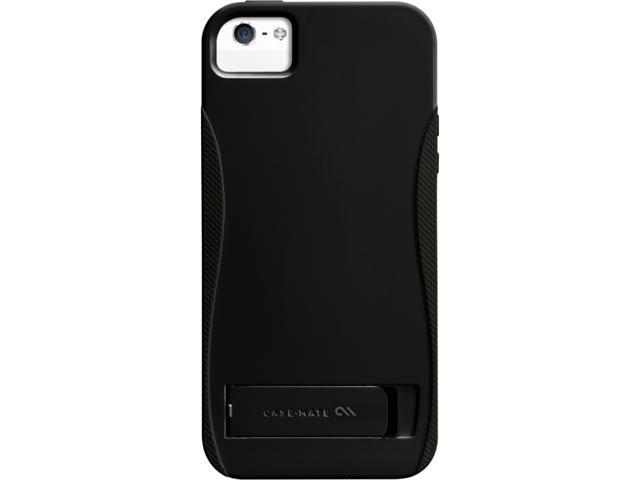 Case-Mate Pop! Case with Stand Black / Black Case for iPhone 5 CM022370