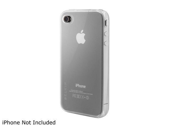 BELKIN Clear Grip Vue for iPhone 4 F8Z642ttCLR