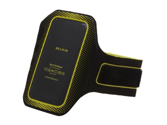 BELKIN EaseFit Sport Black / Limelight Armband for iPhone 4/4S F8Z894ebC00