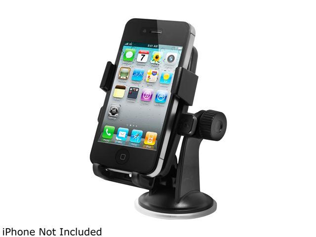 iOttie (HLCRIO102) Easy One Touch Black Car Mount Holder For iphone & ALL 2.1 inches to 2.9 inches wide SmartPhone