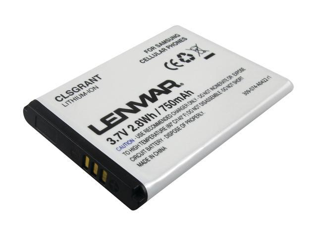 Lenmar 750 mAh Replacement Battery for Samsung Rant, Katalyst, Highnote CLSGRANT
