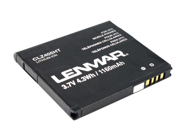 Lenmar 1160 mAh Replacement Battery for HTC Surround Windows 7 Phone CLZ405HT