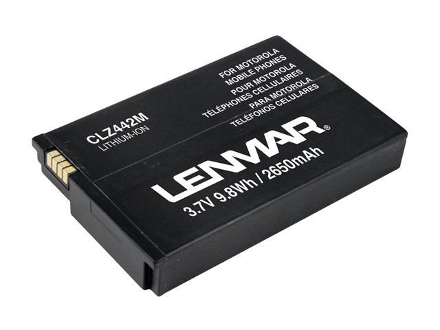Lenmar 2650 mAh Replacement Battery for Motorola Droid X CLZ442M