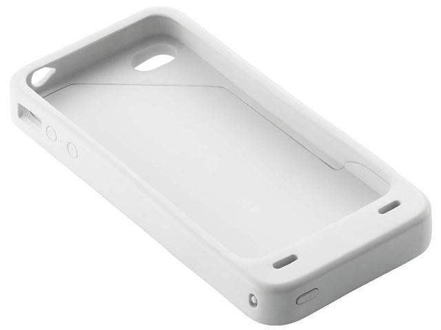 Energizer White 1700 mAh Battery Case for iPhone 4/4S PP-IP4SW