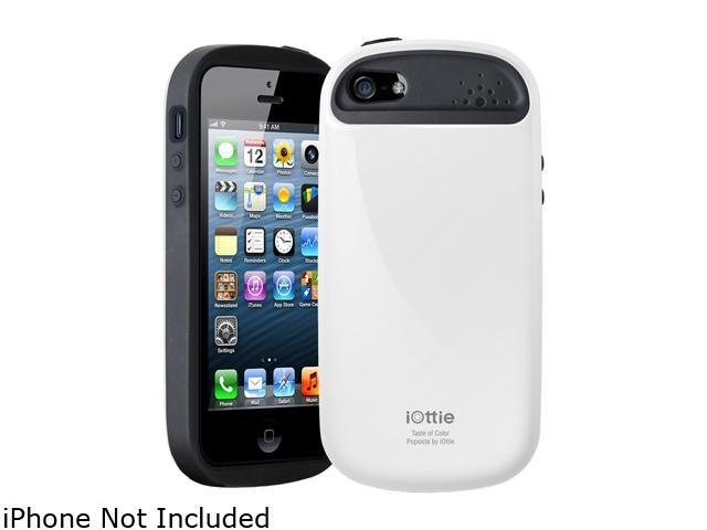iOttie Popsicle White Solid Protective Case for iPhone 5 / 5S CSCEIO211