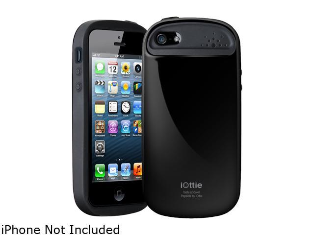 iOttie Popsicle Black Solid Protective Case for iPhone 5 / 5S CSCEIO212