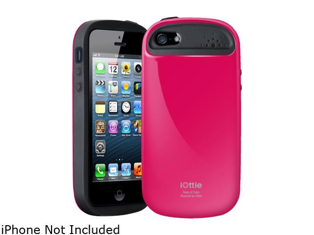 iOttie Popsicle Magenta Solid Protective Case for iPhone 5 / 5S CSCEIO215
