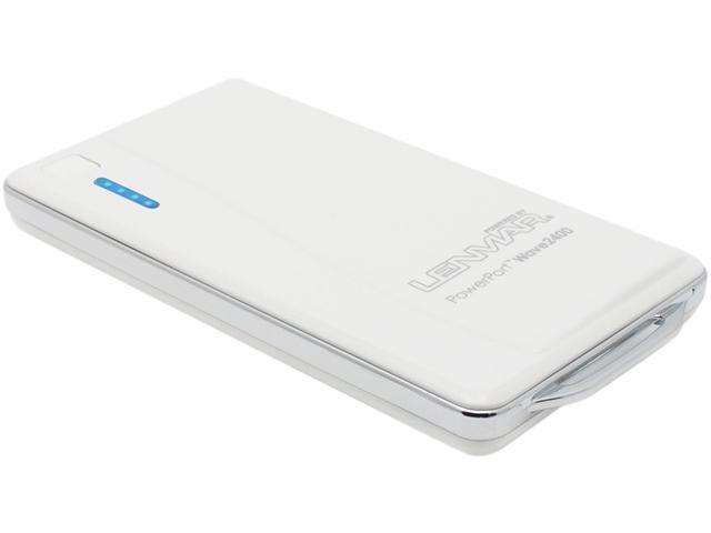 Lenmar White 2400 mAh Universal Battery Pack PPW24W
