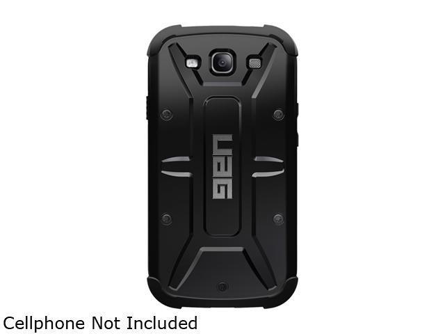 Urban Armor Gear Black Gear Case for Samsung Galaxy S3 w/ Screen Protector UAG-GLXS3-BLK