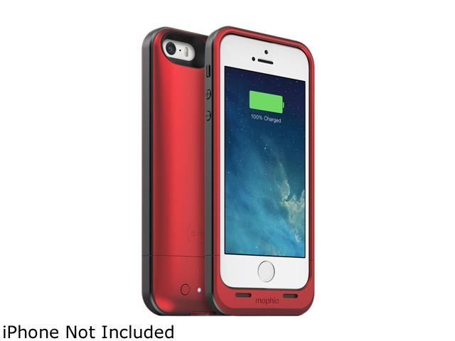 mophie Red 1700 mAh Juice Pack Air Battery Power Adapter 2522_JPS-IP5-RED