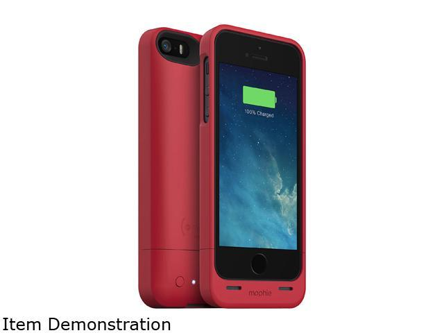 mophie Juice Pack Helium Red 1500 mAh Battery Case for iPhone 5 / 5s 2252_JPH-IP5-RED