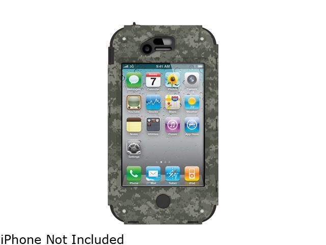 Trident Kraken A.M.S. Green Camo Case for iPhone 4/4S AMS-IPH4S-GRBC