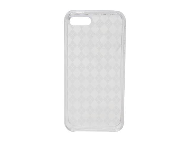 AMZER Luxe Argyle Clear Solid High Gloss TPU Soft Gel Skin Fit Case For iPhone 5 AMZ94509