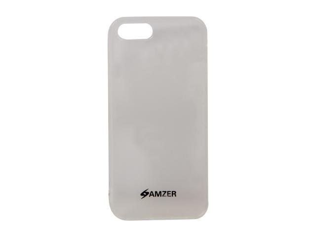 AMZER Clear Solid Soft Gel TPU Gloss Skin Case For iPhone 5 AMZ94654