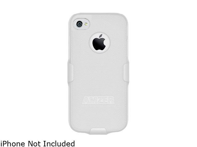 AMZER White Shellster Shell Holster Combo Case For iPhone 5 AMZ94528