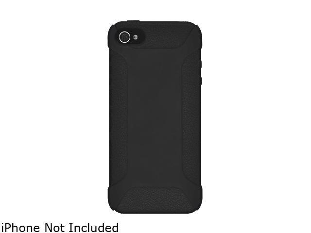 AMZER Black Silicone Jelly Skin Fit Case For iPhone 5 AMZ94531
