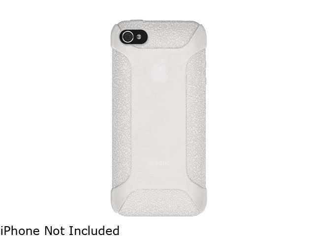 AMZER Transparent White Silicone Jelly Skin Fit Case For iPhone 5 AMZ94532