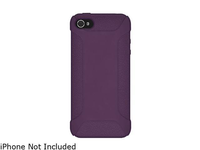 AMZER Purple Silicone Jelly Skin Fit Case For iPhone 5 AMZ94533