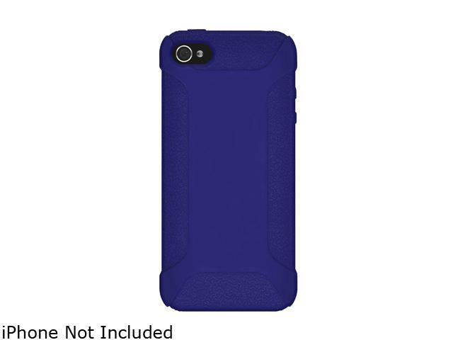 AMZER Blue Silicone Jelly Skin Fit Case For iPhone 5 AMZ94534