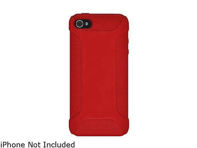 AMZER Red Silicone Jelly Skin Fit Case For iPhone 5 AMZ94535