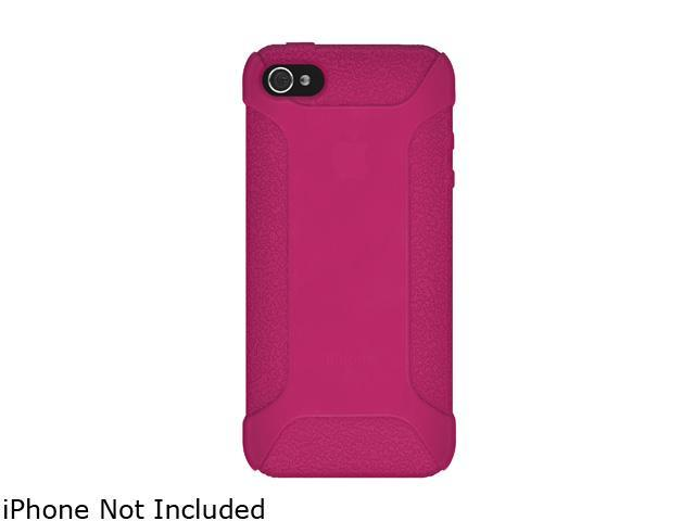 AMZER Hot Pink Silicone Jelly Skin Fit Case For iPhone 5 AMZ94538