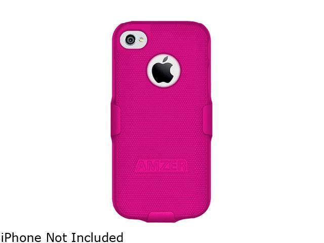AMZER Hot Pink Shellster Shell Holster Combo Case For iPhone 5 AMZ94704