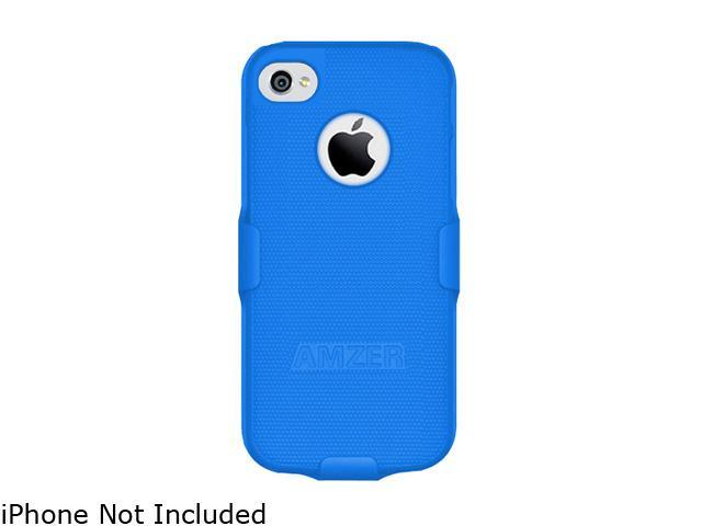AMZER Blue Shellster Shell Holster Combo Case For iPhone 5 AMZ94705