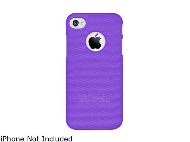 AMZER Purple Hard Shell Snap on Slim Fit Case For iPhone 5 AMZ94706