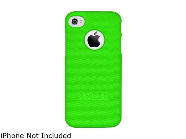 AMZER Neon Green Hard Shell Snap on Slim Fit Case For iPhone 5 AMZ94707