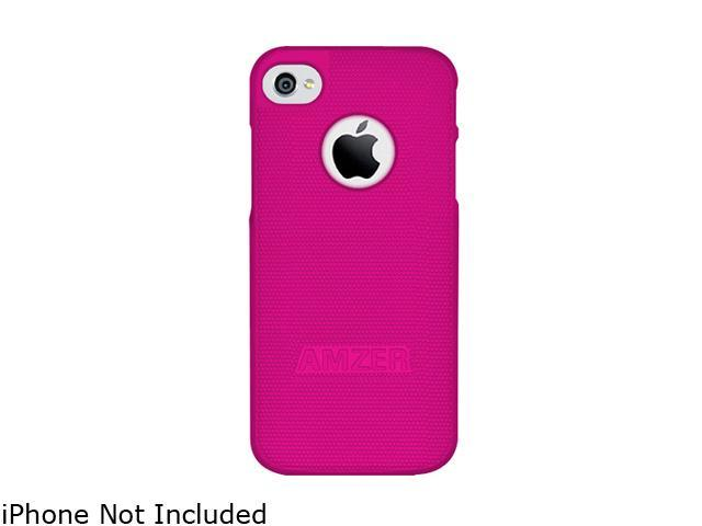 AMZER Hot Pink Hard Shell Snap on Slim Fit Case For iPhone 5 AMZ94708