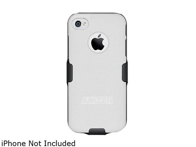 AMZER Black / White Shellster Shell Holster Combo Case For iPhone 5 AMZ94827