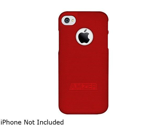AMZER Red Hard Shell Snap on Slim Fit Case For iPhone 5 AMZ94823
