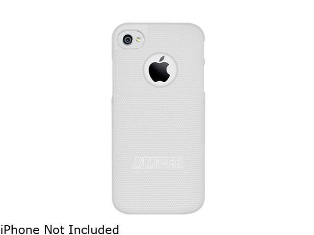 AMZER White Hard Shell Snap on Slim Fit Case For iPhone 5 AMZ94826