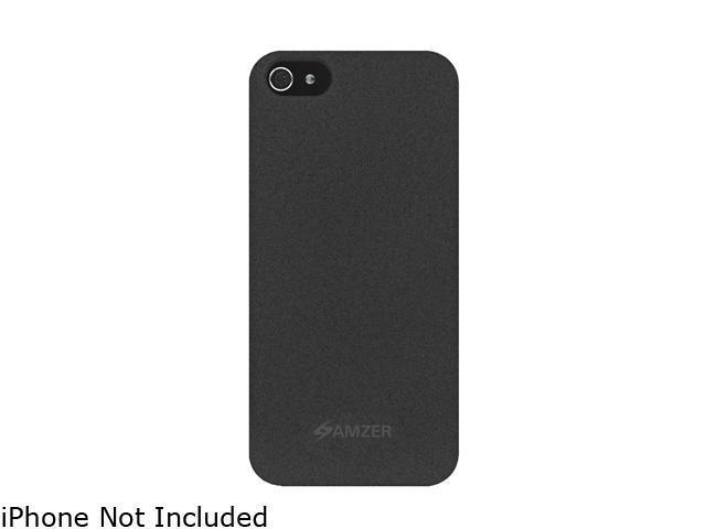 AMZER Charcoal Organic Shell Snap on Slim Fit Case For iPhone 5 AMZ94810