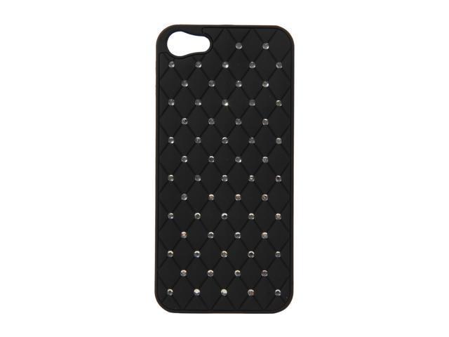 AMZER Black Diamond Lattice Snap On Shell Case For iPhone 5 AMZ94725