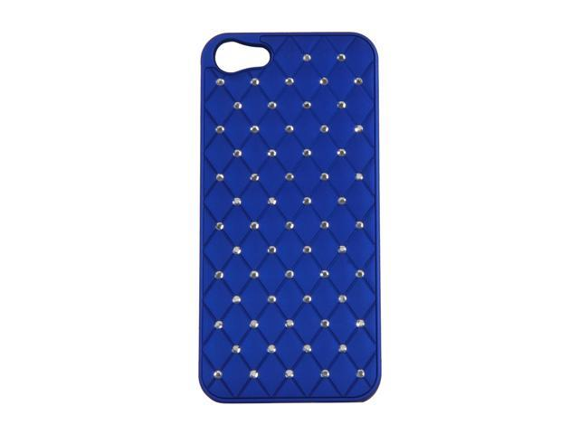 AMZER Dark Blue Diamond Lattice Snap On Shell Case For iPhone 5 AMZ94726