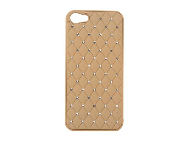 AMZER Khaki Diamond Lattice Snap On Shell Case For iPhone 5 AMZ94728