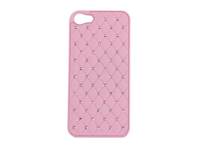 AMZER Light Pink Diamond Lattice Snap On Shell Case For iPhone 5 AMZ94729
